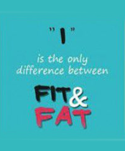 CAN YOU BE FAT AND FIT?